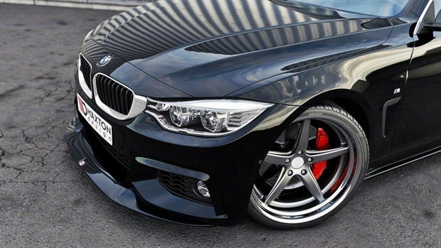 FRONT SPLITTER V.2 BMW 4 F32 M-PACK (GTS-LOOK)