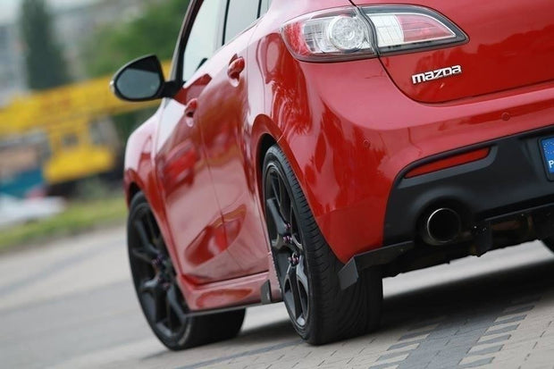 RACING SIDE SKIRTS DIFFUSERS MAZDA 3 MK2 MPS