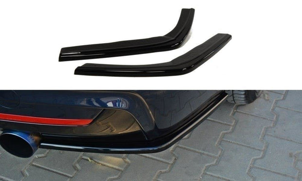 REAR SIDE SPLITTERS BMW 4 F32 M-PACK