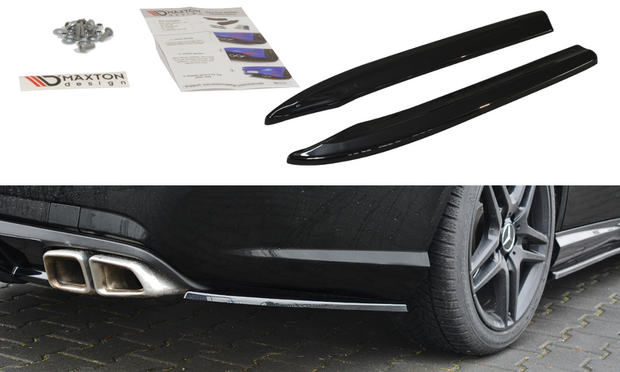REAR SIDE SPLITTERS MERCEDES-BENZ E63 AMG W212
