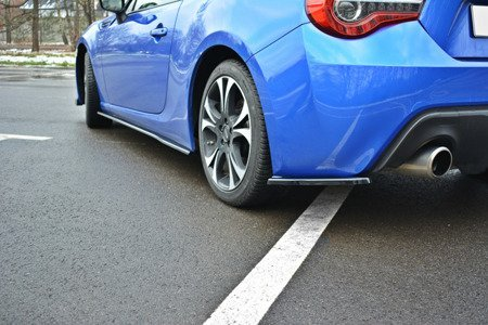 REAR SIDE SPLITTERS V.1 SUBARU BRZ FACELIFT
