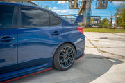 REAR SIDE SPLITTERS V.2 SUBARU WRX STI