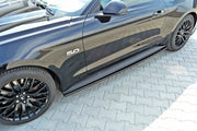 SIDE SKIRTS DIFFUSERS FORD MUSTANG MK6 GT