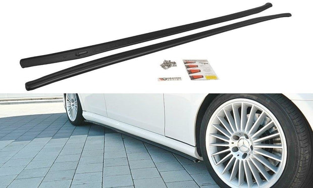 SIDE SKIRTS DIFFUSERS MERCEDES CLS C219 55AMG