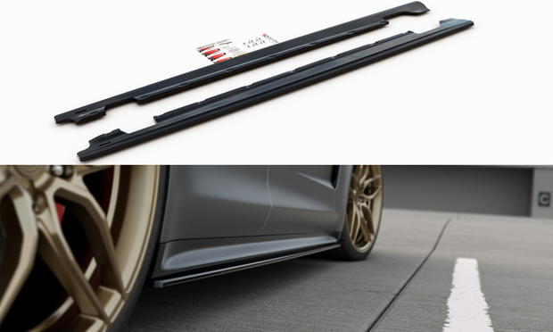 SIDE SKIRTS DIFFUSERS PORSCHE PANAMERA TURBO / GTS 971