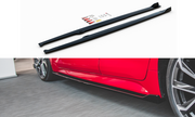 SIDE SKIRTS DIFFUSERS TOYOTA COROLLA XII HATCHBACK
