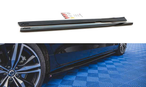 SIDE SKIRTS DIFFUSERS V.1 VOLVO S60 R-DESIGN MK3