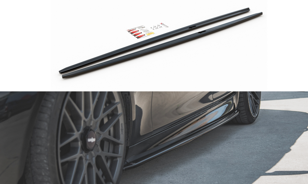 SIDE SKIRTS DIFFUSERS V.2 BMW 5 F10/F11 M-PACK