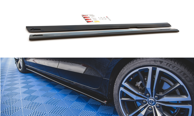 SIDE SKIRTS DIFFUSERS V.2 VOLVO S60 R-DESIGN MK3