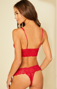 Mystic Red Sweetie Bralette