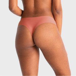 Mid-Rise Seamless Thong