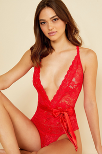 Rosetto Deep V Bodysuit