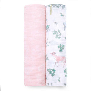 Aden + Anais Cotton Muslin Swaddle 2 Pack