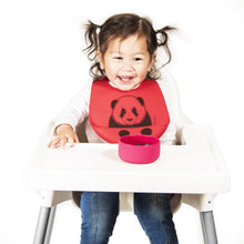 Load image into Gallery viewer, Modern Twist Panda Bucket Bib