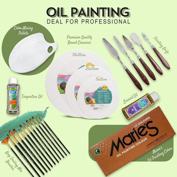 Different Ways To Use Oil Mediums And Paints