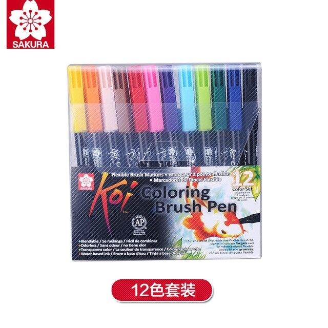 Sakura Koi Coloring Brush Pen Marker Set