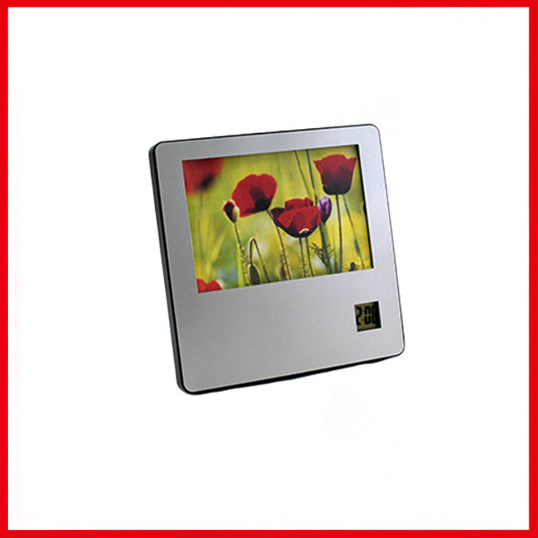 Digital Table Clock with Photo Frame