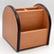 4 Compartments Wooden Pen Holder.