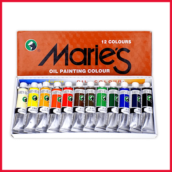 Marie's Oil Colour Set 12 Pieces