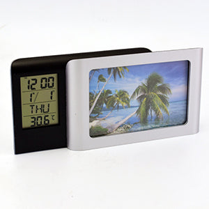 Photo Frame with Digital Clock