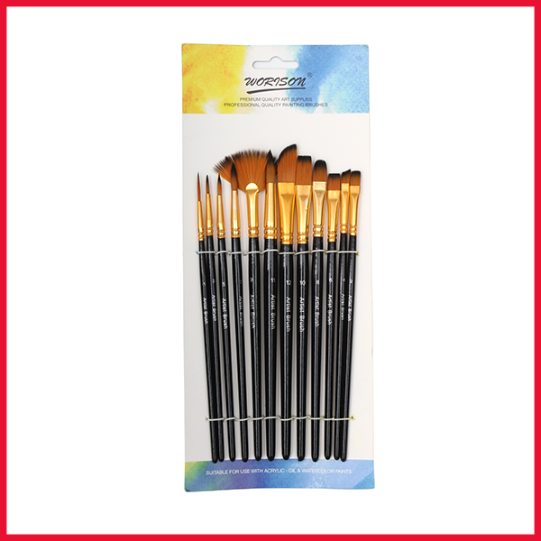 Worison Mix Artist Brush 12 Pcs Set