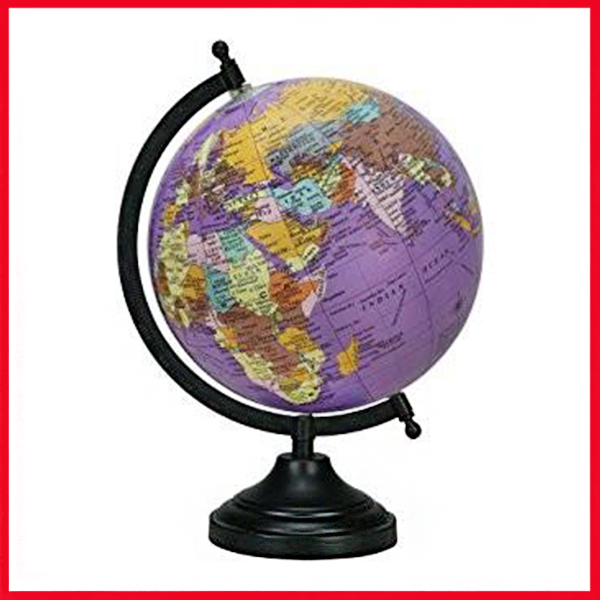 Best Quality Globe of the World - 10.6cm.