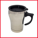 Stainless Steel Travel Mug (Silver)