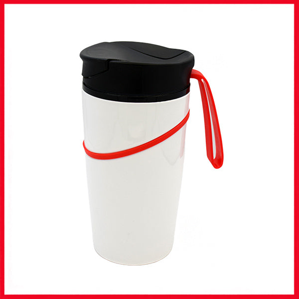 Stainless Steel Insulated Vacuum Suction Spill Free Traveling Mug