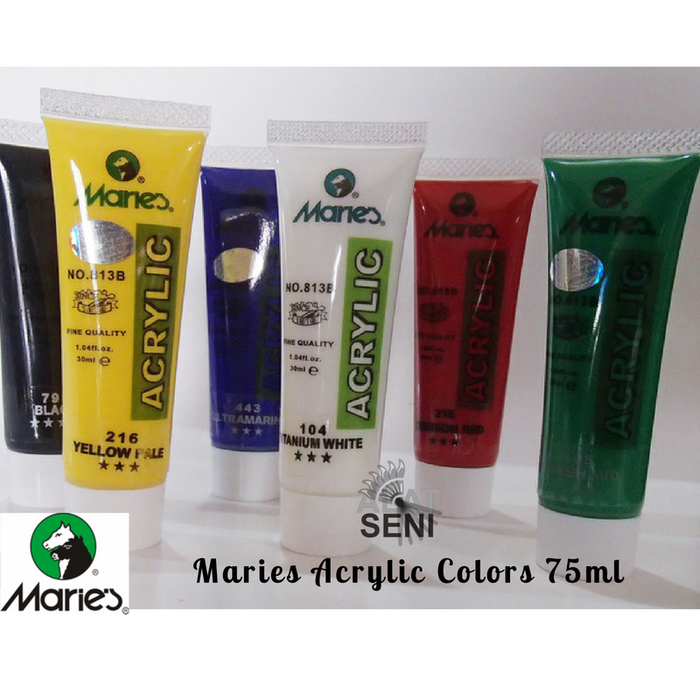 Marie's 6 Acrylic Tube Set 75ml