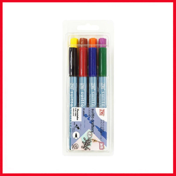 ZIG Suitto Crafters Brush Marker Set