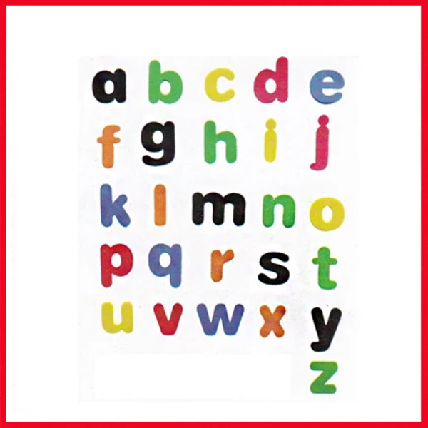 Alphabets Small (Simple) ABC