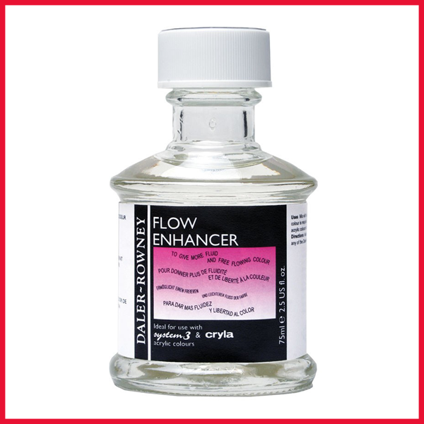 Daler Rowney Acrylic Flow Enhancer in 75ml bottle