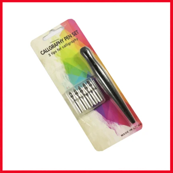 Calligraphy Pen Set 5 tip