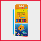 Goldfish Flupa Color Pencil Pack Of 12