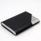 Business Card Holder Luxury PU Leather & Stainless Steel