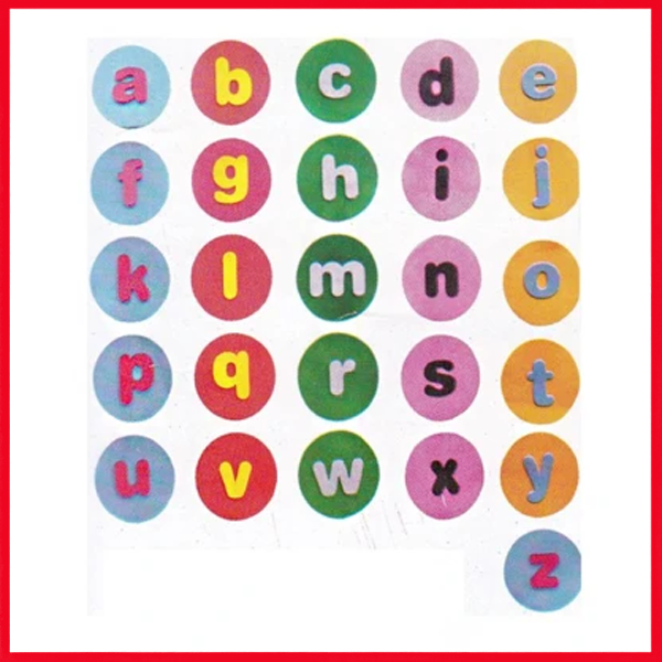 Alphabets Small (Circle) ABC