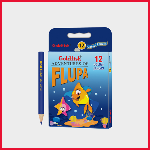 Goldfish H-12 Color Pencil Pack Of 12