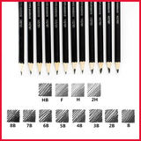 Ulson Giaded Sketch Pencil Set 12pcs Box