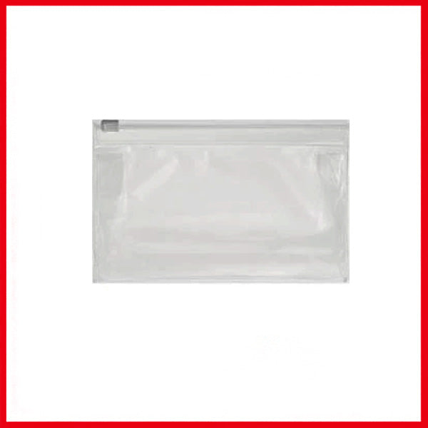 PVC Zip Transparent Pouch A6