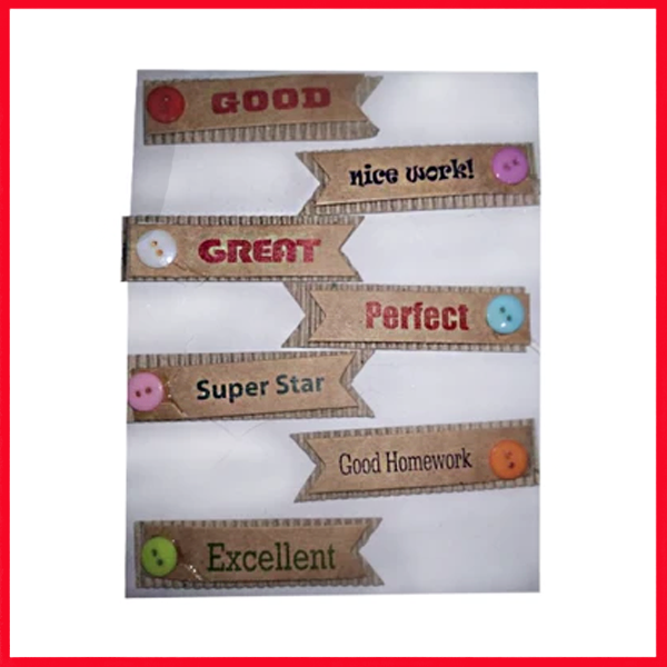 Label Stickers 7 Count Craft.