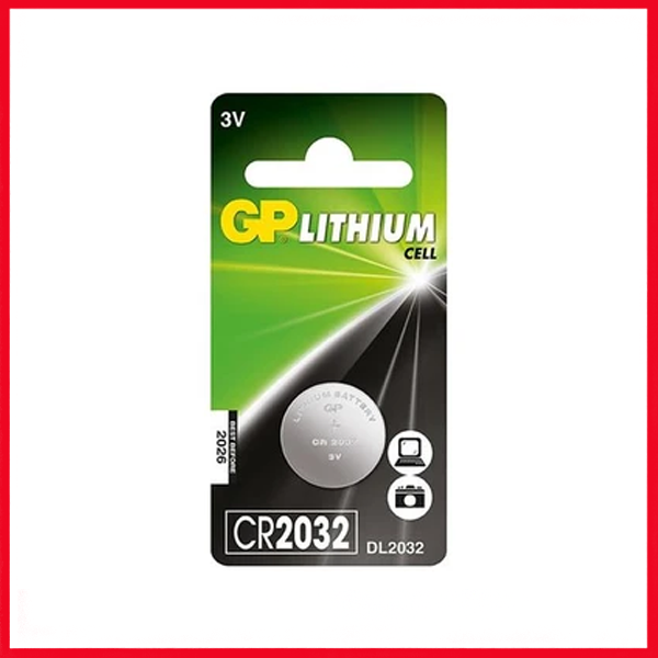 GP Lithium Cell Battery - CR2032