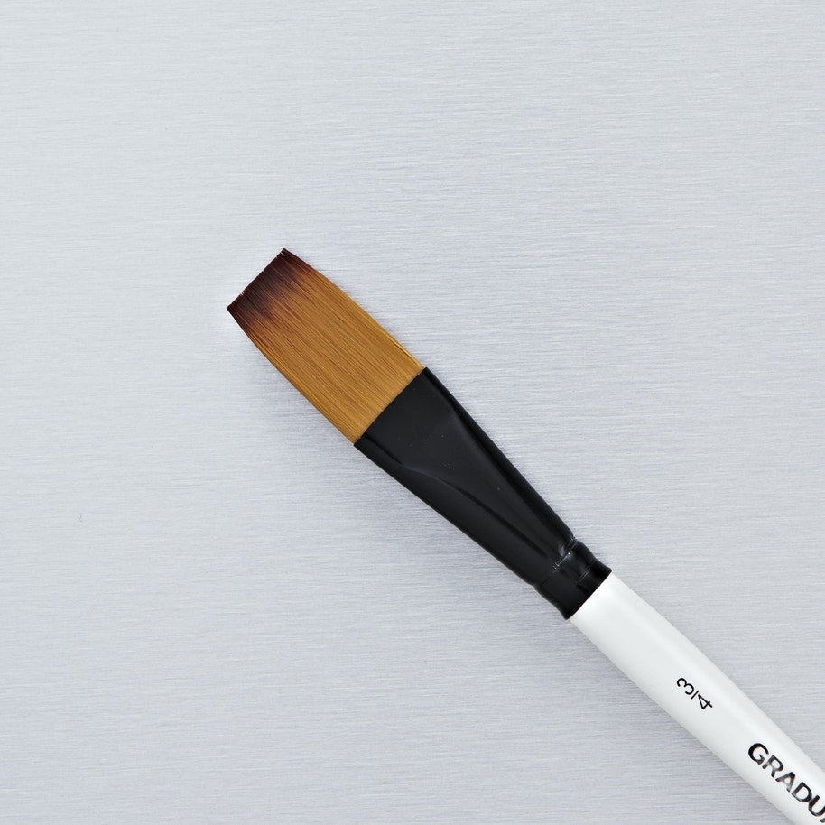 Daler Rowney Graduate Synthetic One Stroke Brush Size 3/4