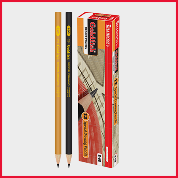 Goldfish Degree Pencil Pack Of 12