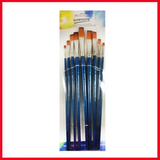 Worison Flat Artist Brush Set