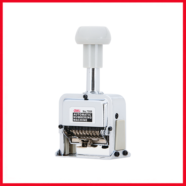 Deli Auto Numbering Machine 8 Digits (E7508).