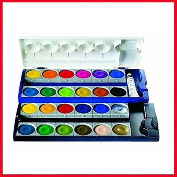 Pelikan Opaque 24 Color Set With White Tube 720862