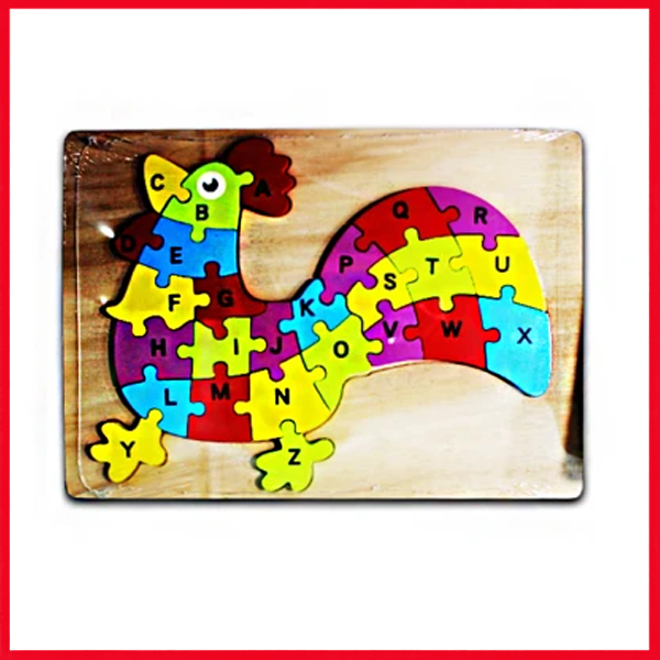 Wooden Puzzle Plate Animal Shape Early Educational Toys 1-3 Years