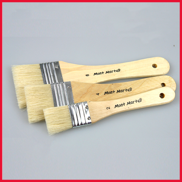 GESSO Paint Brush 3 Pcs Set