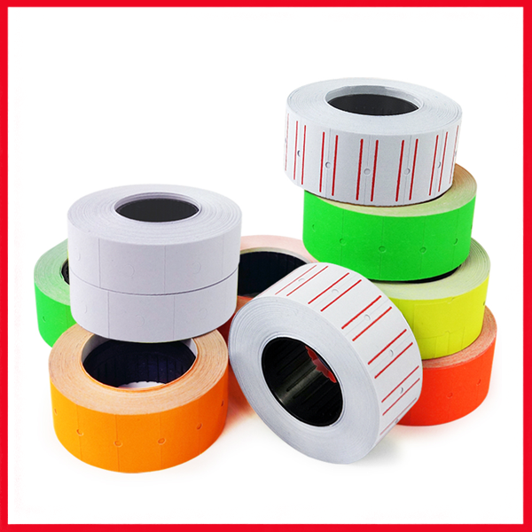 Price Label Roll Double Line