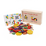 Wooden Blocks - Puzzle Blocks Early Kids Learning Toys